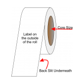 Continuous InkJet Label Material